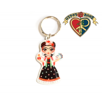 Gypsy Girl Keychain
