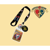 Grateful Dead 50th Anniversary Steal Your Face Lanyard