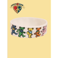 Grateful Dead Rubber Dancing Bear Bracelet