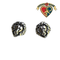 Stud Lion Head Earrings