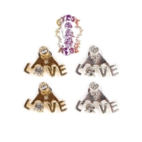 LOVE LETTERS PEEK A BOO EARRINGS