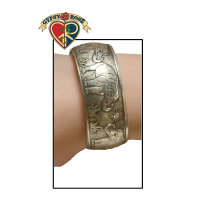 ELEPHANT PARADE METAL WIDE BRACELET