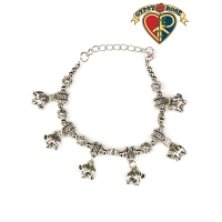 Elephant Charms Beaded Bracelet