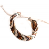 Earth Tone Assorted Adjustable Bracelet