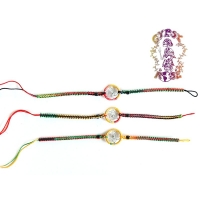 RASTA DREAMCATCHER FRIENDSHIP BRACELET