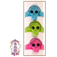 DEAD HEAD PHONES ADJUSTABLE RINGS