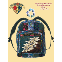 Grateful Dead Bolt Recycled Printed Corduroy Backpack