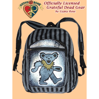 Grateful Dead Dancing Bear Body Hand Embroidered Gheri Backpack