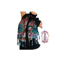 ALL OVER TYE DYE RAYON SCARF