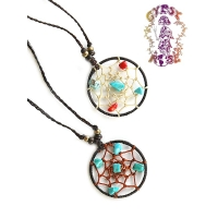 SWEET DREAMS DREAMCATCHER NECKLACE