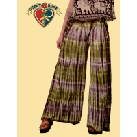 Starlight Tye Dye Spandex Blend Free Flow Pants