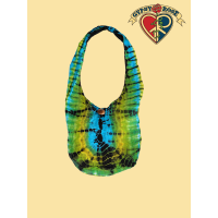 CUTIE PIE COTTON TYE DYE SHOULDER BAG