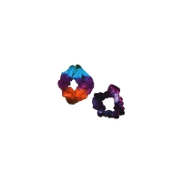 TYE DYE RAYON HAIR SCRUNCHIES