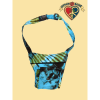 Electric Forest Tye Dye Cotton Hiprider Belt Bag