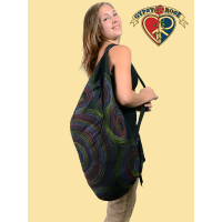Swirling Soul Cotton Printed Multi-Use Bag