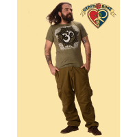 Om Of Kindness Cotton Printed T-Shirt