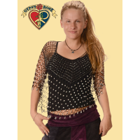 Beaded Crochet Shrug