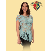 Spun Out Crochet Mandala Blouse