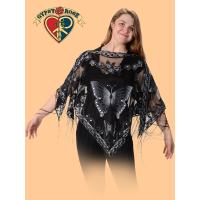 Butterfly Sheer Cape