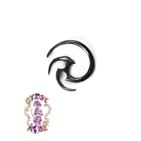 2 MM HORN TRIBAL DESIGN BODY JEWELRY