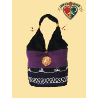 SWIRLEY BAG WITH COCONUT EMBLEM