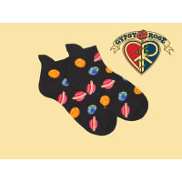 Cosmic Alignment Planetary Ankle Socks