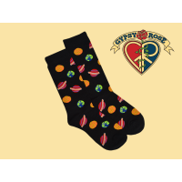 Cosmic Alignment Planetary Tall Socks