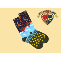 Let The Good Times Roll Fun & Funky Tall Socks