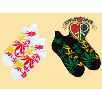 Rasta Haze Ankle Socks