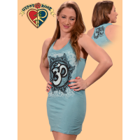 Om Of Kindness Long Cotton Tank Top