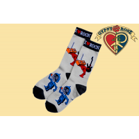 ROBOT ROCK TALL SOCKS