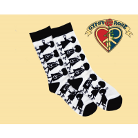 MOD MEN ROLLER BRIGADE TALL SOCKS