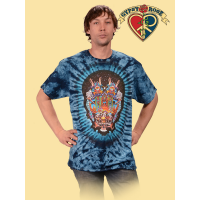 Drums Space Tye Dye T-Shirt