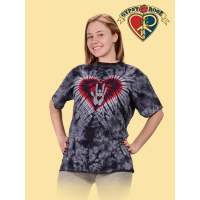 The Love Never Stops Tye Dye T-Shirt