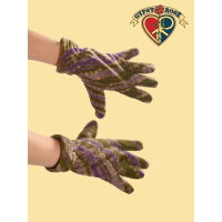 Tye Dye Fleece Gloves