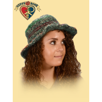Dream Weaver Woven Cotton Multi-Color Hat