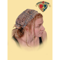 RECYCLED SARI REVERSIBLE HEADBAND / KERCHIEF