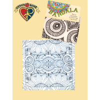 Sunflower Coloring Canvas Bandana