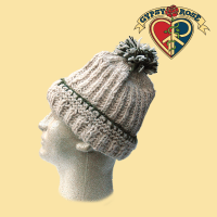 EARTHLY TRENDZ HEMP & WOOL ROLL HAT