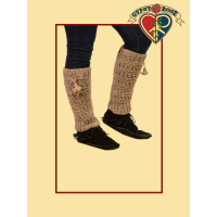 EARTHLY TRENDZ HEMP & WOOL LEG WARMERS