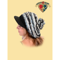 Hazy Shade Of Winter Wool Knit Cap