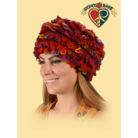 Rockin' In The Free World Fleece Lined Wool Mohair Loop Fringe Hat