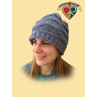 Born Free Fleece Lined Wool Honeycomb Stitch Hat