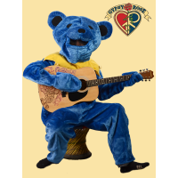 GRATEFUL DEAD DANCING BEAR SMALL/MEDIUM OUTFIT