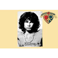 JIM MORRISON THE DOORS AMERICAN POET FABRIC POSTER