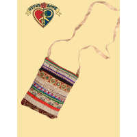 Bollywood Blitz Glitzy Patchwork and Embroidered Purse