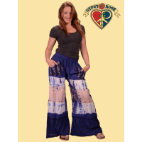 Rainy Day Woman Cotton Tye Dye Artisan Pants