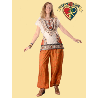 Whispering Wind Recycled Sari Wide Leg Pants