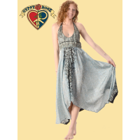 Whispering Wind Recycled Sari Fairy Cut Sundress