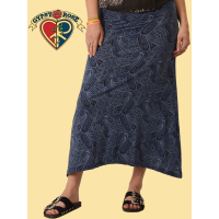 Soft n Stretchy Paisley Long Skirt